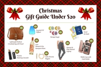 Red Gift Guide for Her Flyer