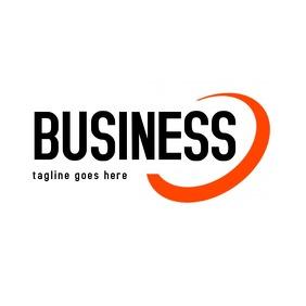 Red Half circle business logo