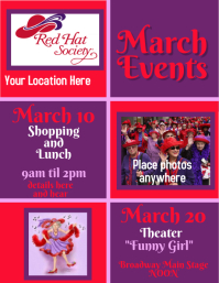 Red Hat Society Volante (Carta US) template