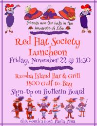 Red Hat Luncheon Nov 22 2019