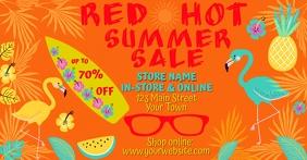 Red Hot Summer Sale for Facebook