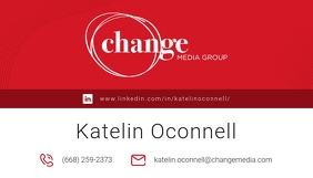 Red Media Agency Business Card