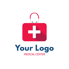 Red Medical Center Logo Design