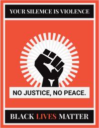 Red Revolution BLM Flyer