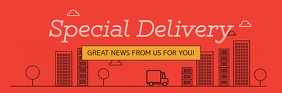 Red Special Delivery Email Header