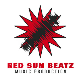 Red Sun Music Production Beats Logo