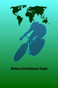 Reduce Geenhouse Gases #fitness #environmental @artbyshesh