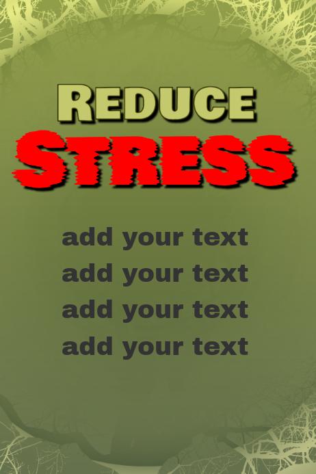 reduce stress help feeling stressed