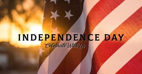 REF: Independence Day Facebook begivenhed cover template