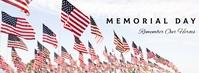 REF: MEMORIAL DAY Foto Sampul Facebook template