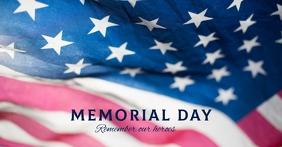 Ref: MEMORIAL DAY - FB Sampul Acara Facebook template