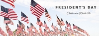 Ref: Presidents Day Facebook Cover Photo template