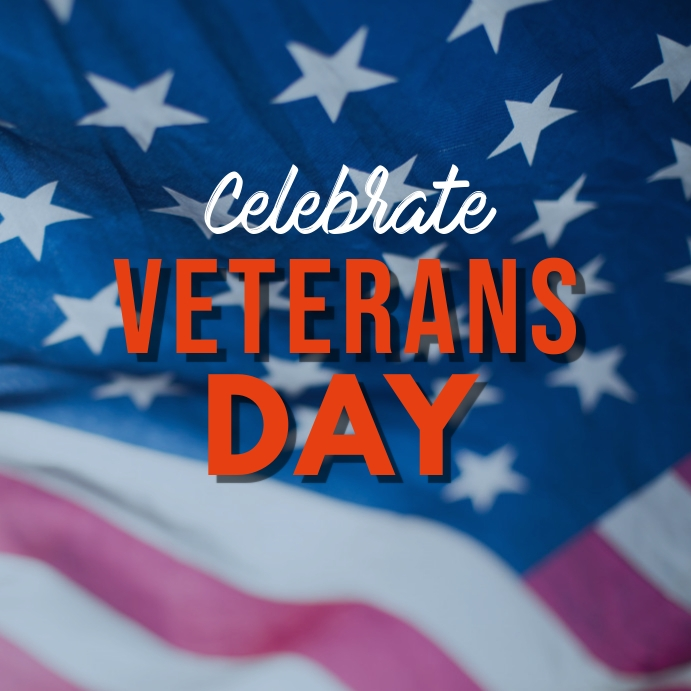 Ref: Veterans day Vierkant (1:1) template