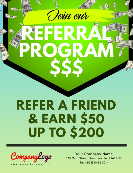Referral Program Flyer