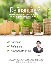 Refinancing Flyer Template