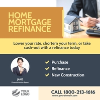 Refinancing Flyer Template Instagram