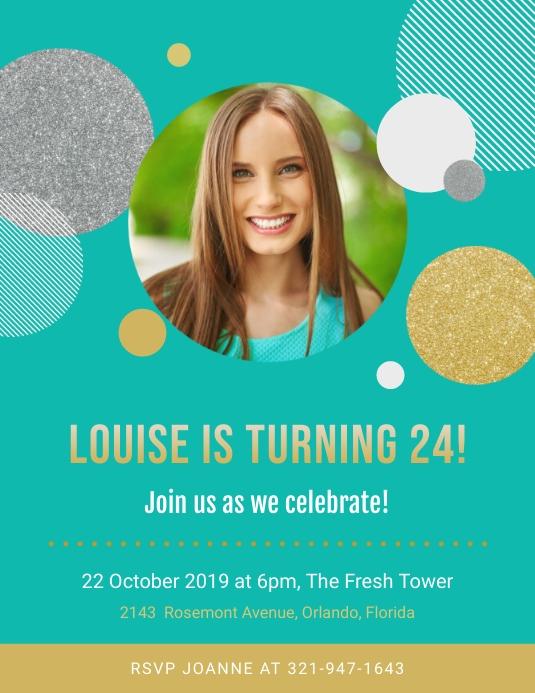 Regal Birthday Party Invitation