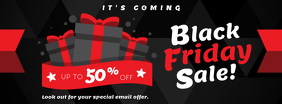 Regal Black Friday Sale Facebook Banner Design