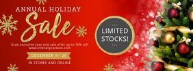 Regal Christmas Sale Banner