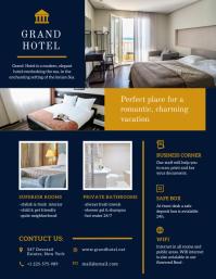 Regal Hotel Advert Flyer
