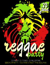 16870 Customizable Design Templates For Reggae Party