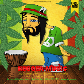 50+ Reggae Customizable Design Templates | PosterMyWall