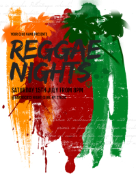 Reggae Night Flyer