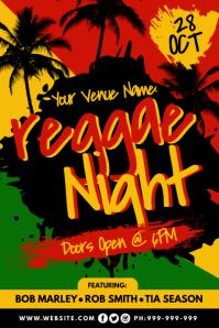 120 Reggae Customizable Design Templates Postermywall