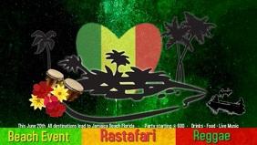 Reggae/Rastafari Event/Jamaica/beach party