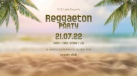 Reggaeton Party Night Beach Latin Event Palms