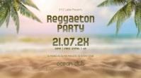 Reggaeton Party Night Beach Latin Event Palms