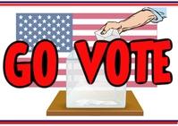 Register to go vote Carte postale template