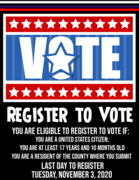 Register to go vote