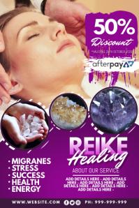 Reike Healing Poster
