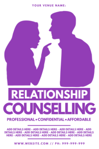 Relationship Counselling Poster
