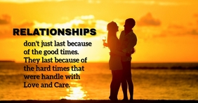 Relationship love and care templates Facebook-Veranstaltungscover