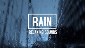 Relaxin White noise rain on a window youtube
