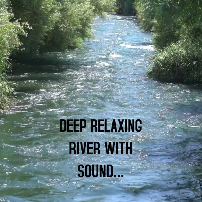RELAXING DEEP DELTA SOUND VIDEO TEMPLATE