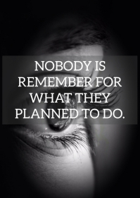 REMEMBER AND PLANNED QUOTE TEMPLATE A3