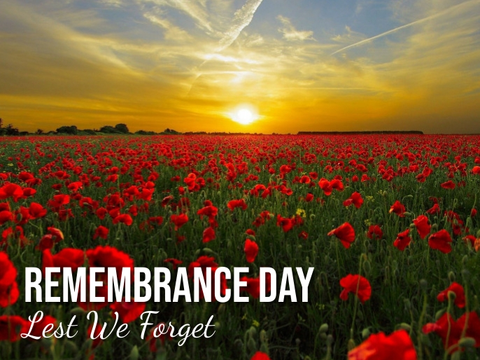 remembrance day Presentation template
