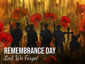 Remembrance day Voorlegging template