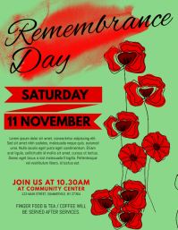Remembrance Day Flyer