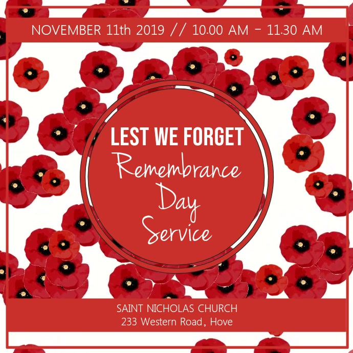 Remembrance Day Video Template