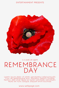 Remembrance Flyer Template