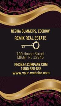 Remix Remix Real Estate Business Card
