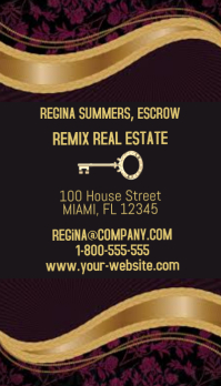 Remix Remix Real Estate Business Card