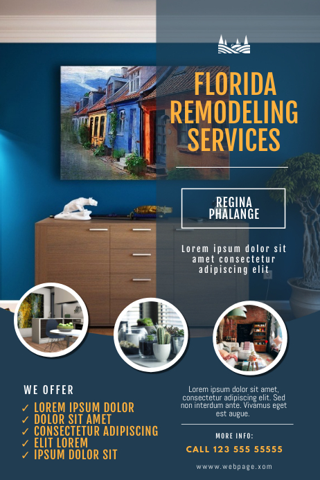 remodeling Service Flyer Template