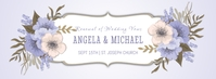 Renewal Of Wedding Vows Facebook Cover template