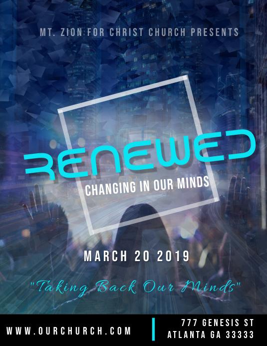 Renewed Church event
