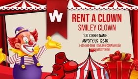 Rent a Clown Business Card